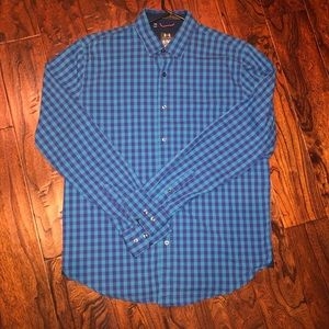 Men's Under Armour Gingham Button Down